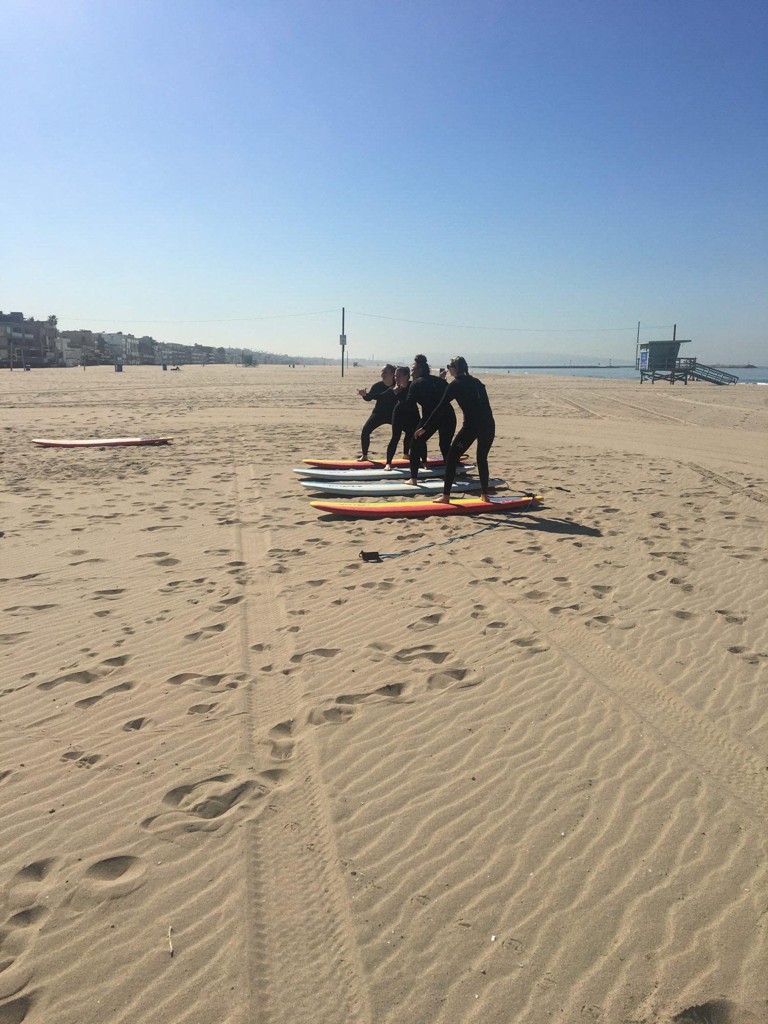 スマイリーガールズ。 on the beach!