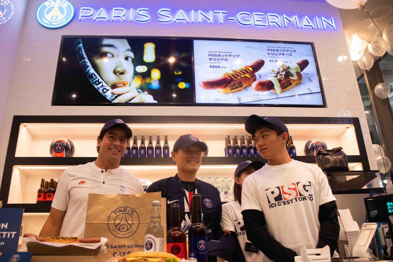 パリ・サン=ジェルマンカフェ世界初出店!
