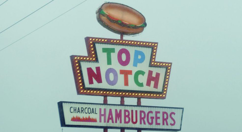 DINER #2「TOP NOTCH Hamburgers」