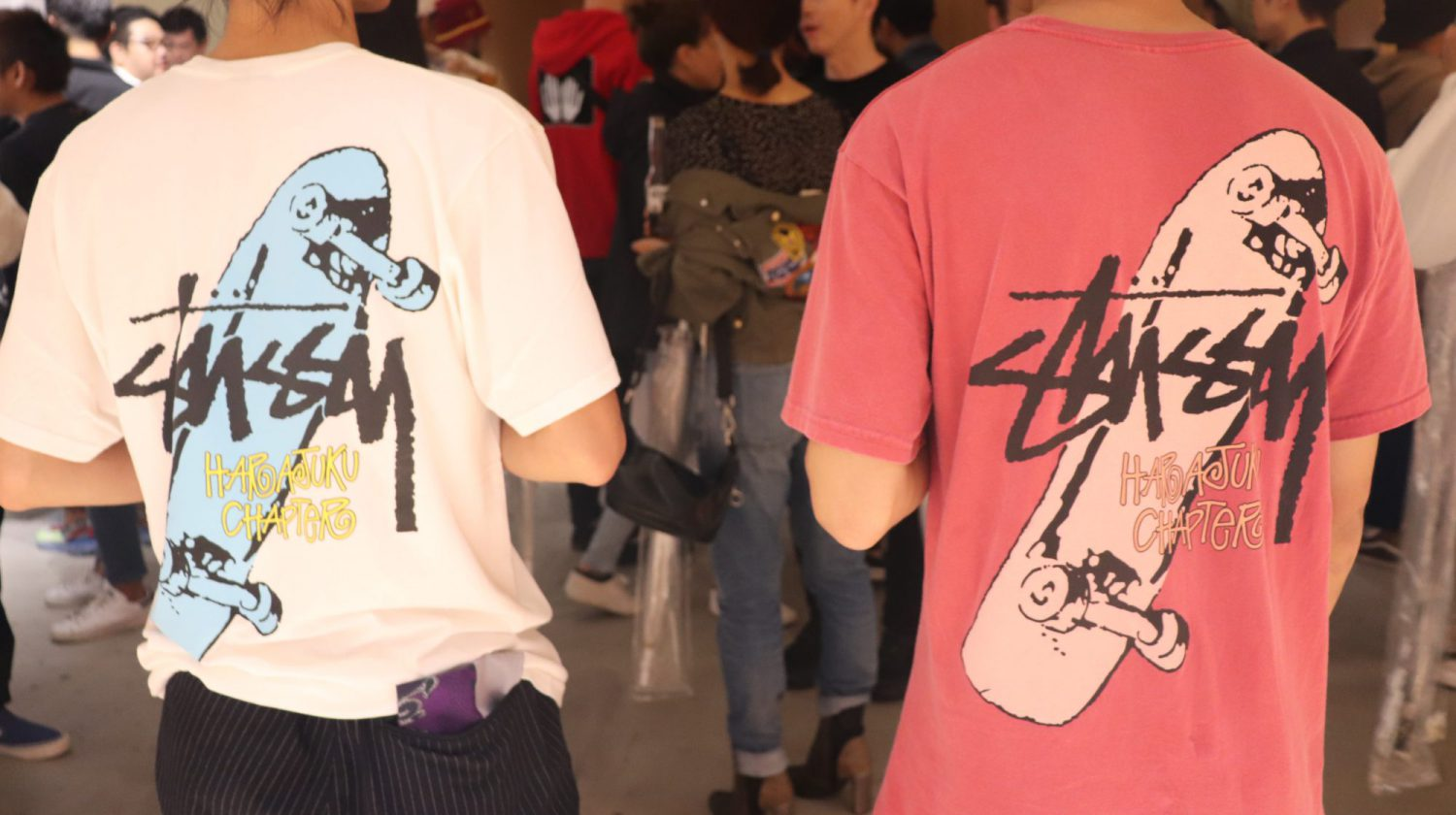 Stüssy Harajuku Chapter Reopen