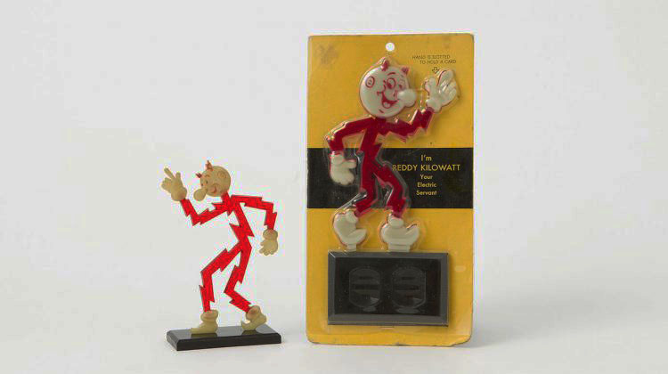 Character Collector #4 REDDY KILOWATT