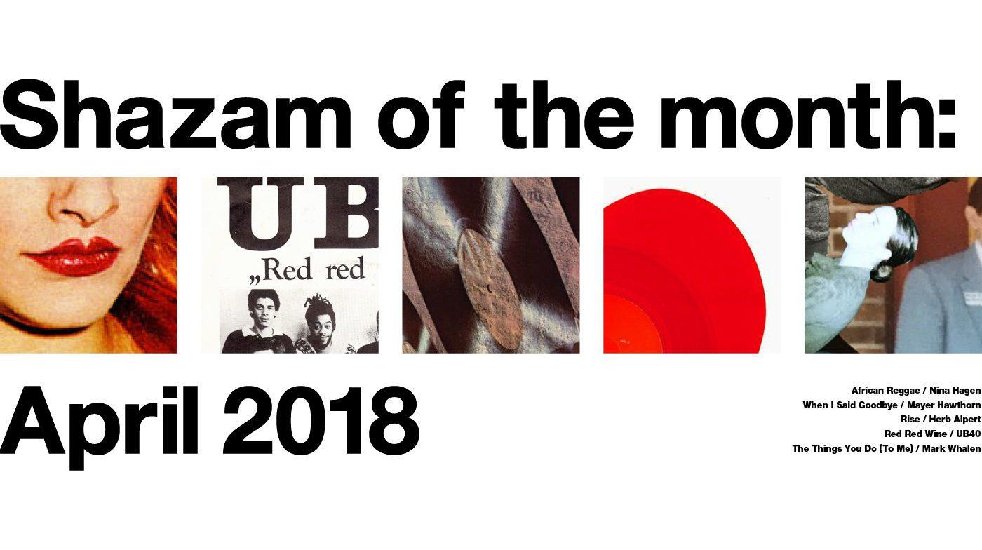 今月のShazam (April)