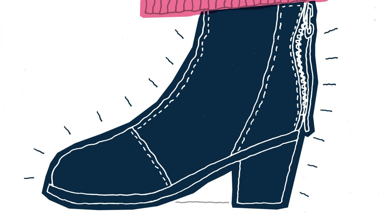 my shoes vol.02<br>津野祐可のショートブーツ