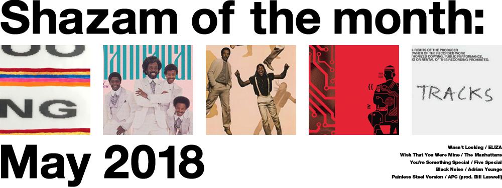 5月にShazamした5曲