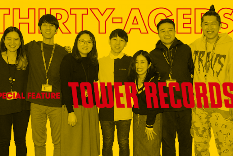 THIRTY-AGERS X TOWER RECORDS / WORKERS VOICE