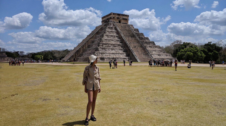 マヤのピラミッドチチェンイッツァ。