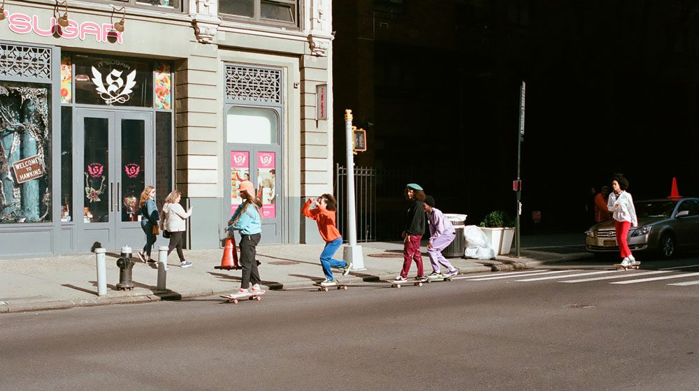 #1 X-GIRL SKATEBOARDS FEAT. THE SKATE KITCHEN