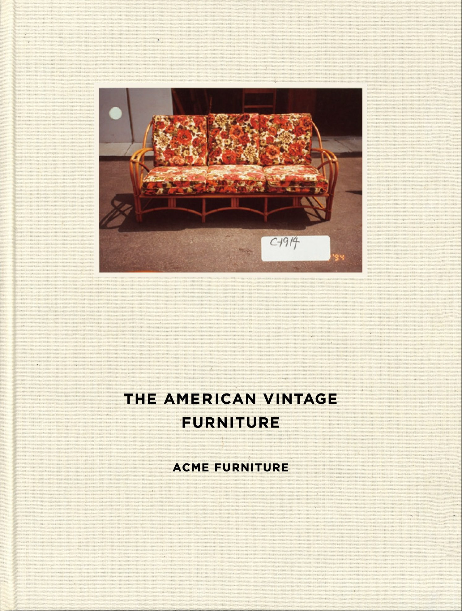 『THE AMERICAN VINTAGE FURNITURE』