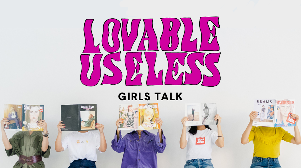 GIRLS TALK / アンナマガジンとローズバッド
