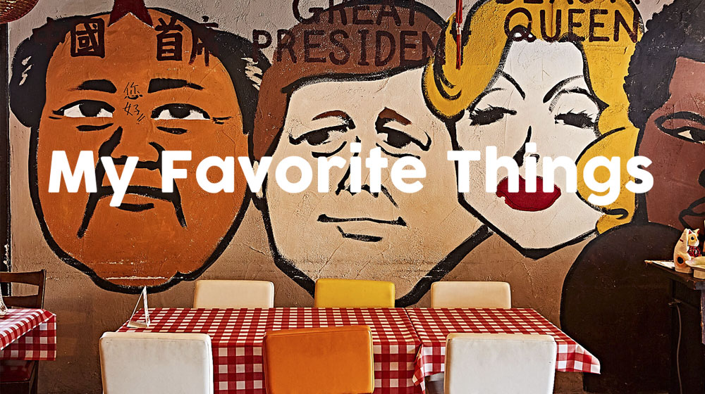異国感満載! アメリカンな中華レストラン。